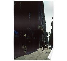 Street near our hotel Firenze Italy 19840707 0001 Poster