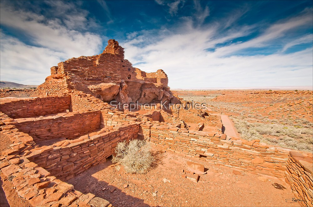 Wupatki National Monument by Stephen Knowles