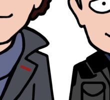 Sherlock and John (sticker) Sticker