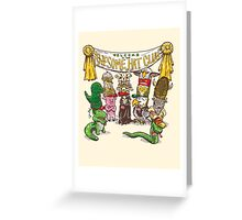 The Awesome Hat Club Greeting Card