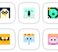 Adventure Time 8-bit Sprite Stickers Sticker