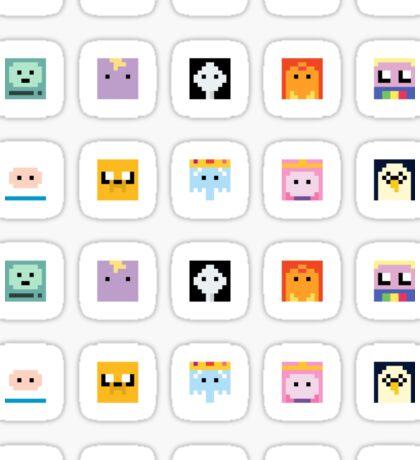 Adventure Time 8-bit Sprite Stickers - Set 2 Sticker