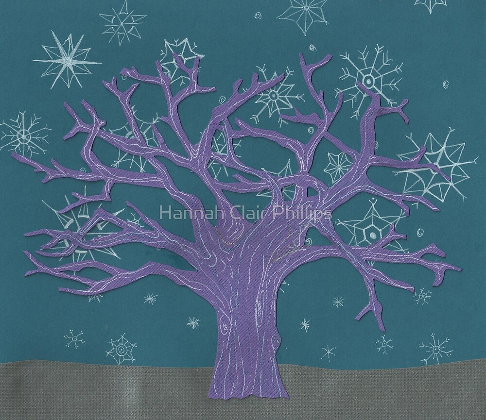 Winter scene by Hannah Clair Phillips