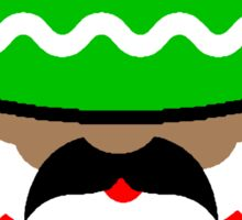 Mexican Santa Sticker