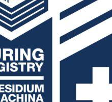 Turing Registry Insignia - Blue Sticker