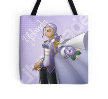 Yolanda, Purple Duelist Tote Bag