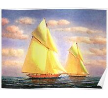 Sailing Adventures Poster