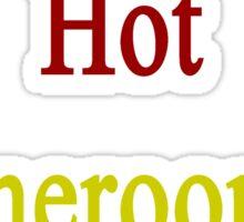 I Love My Hot Cameroonian Wife  Sticker
