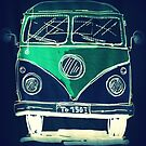 VW camper by ©The Creative Minds
