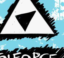Pop Punk Triforce Sticker