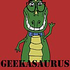 GEEKASAURUS COLOUR by Sarah Jane Jackson