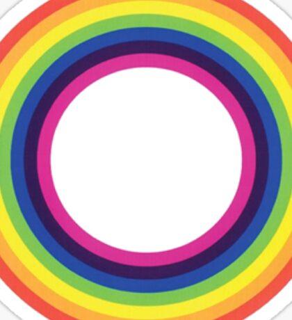 Circle Rainbow Sticker