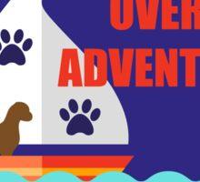 Canicross Achievement | Overseas Adventurer Sticker