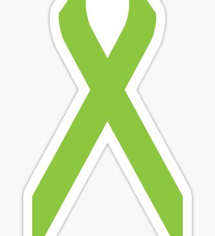 Lymphoma Awareness ribbon Sticker