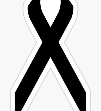 Melanoma Awareness ribbon Sticker