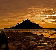 Sunset Over the Mount by Paul Howarth