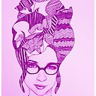 The Cat Lady In Purple by TalulaChristian