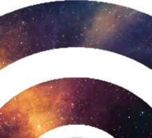 Space wifi Sticker