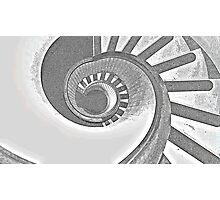 Downward Spiral (v.2) Photographic Print