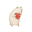 Bear with Heart by Sophie Corrigan