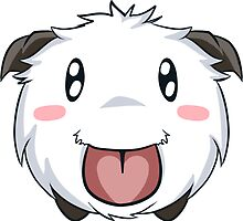 League of Legends Poro by Ophibell