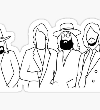 The Beatles 1969  Sticker