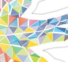 Triangled Swallow Sticker