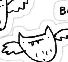 Bats!! Sticker