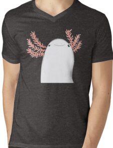 Axolotl Close-Up Mens V-Neck T-Shirt