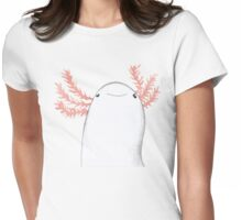 Axolotl Close-Up Womens Fitted T-Shirt