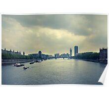 River Thames Poster