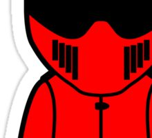 The Stig - Red Stig (Unseen) Sticker