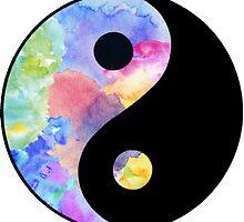 Pastel Ying Yang by pentel