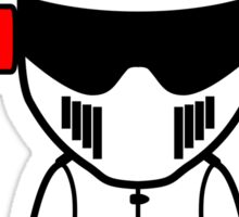 The Stig - Teenage Stig Sticker