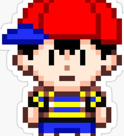 Ness - Earthbound Smash Bros Mini Pixel Sticker