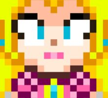 Princess Peach - Smash Bros Mini Pixel Sticker