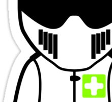 The Stig - Emergency Stig Sticker