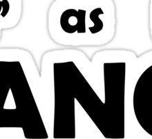 M as in Mancy Sticker