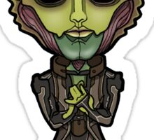 Mass Effect - Thane Krios Drell Assassin Chibi Sticker Sticker