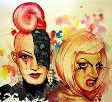 Lady Michel und Elektra Trash (VIDEO IN DESCRIPTION!) by OlgaNoes