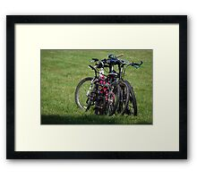 Family Day Out Framed Print
