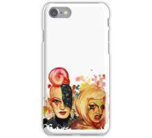 Lady Michel und Elektra Trash (VIDEO IN DESCRIPTION!) iPhone Case/Skin