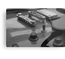 Semi-Acoustic Guitar Metal Print