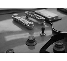 Semi-Acoustic Guitar Photographic Print