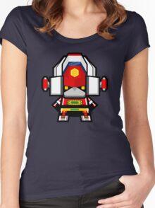 Mekkachibi Tosho Daimos Women's Fitted Scoop T-Shirt