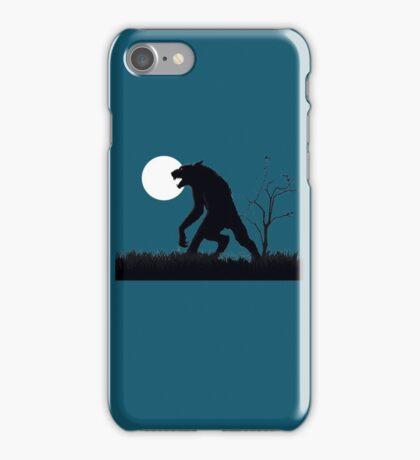goosebumps werewolf iPhone Case/Skin