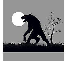 goosebumps werewolf Photographic Print