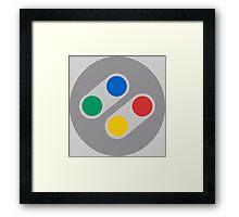 Famicom Control Framed Print