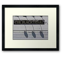 The Black Pearl  Framed Print