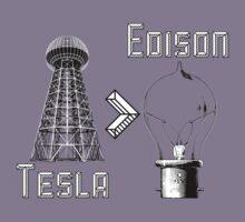 Tesla superiority Kids Tee